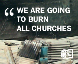 CHILE: Two Christian Churches Ablaze