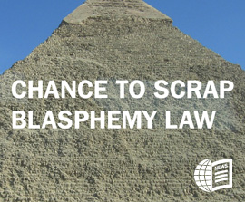 EGYPT: Chance to Scrap Blasphemy Law