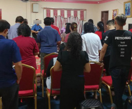 Project: Brunei Pastor support