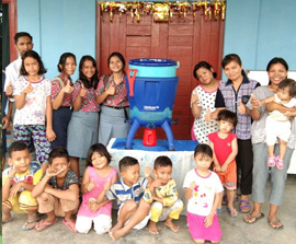 Project: Water Filter for Indonesia