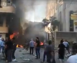 SYRIA: Bomb Attack on Qamishli Church