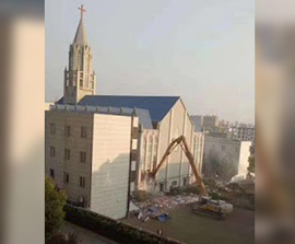 CHINA: Officials Demolish Megachurch and Arrest Leaders