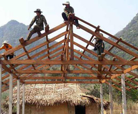 LAOS: Destroyed House Church Now Larger than Before