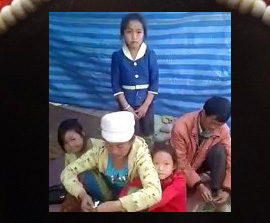 LAOS: Three Families Expelled from Village