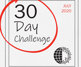 30 Day Challenge – July 2020