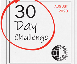 30 Day Challenge: August 2020