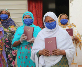 Christian Families Receive Emergency Aid