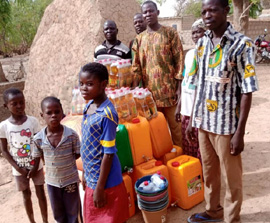 Emergency Relief for Displaced Christians in Burkina Faso