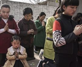 CHINA:  Government Orders Low-Income Families to Abandon their Faith or Lose Financial Aid