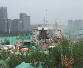 CHINA: Church Demolished, Christians Hospitalised
