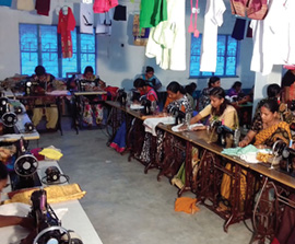 Providing Life-Changing Practical Help to Women in India