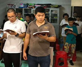 CHINA: Officials Raid Bible Study