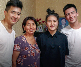 Mentored by a Martyr's Widow