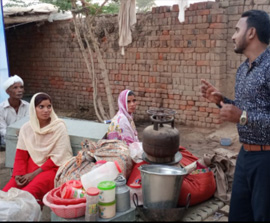 Project: Help for Christians in Pakistan.